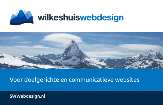 Portfolio-thumbnail project Wilkeshuis Webdesign