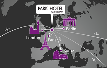 Portfolio-thumbnail project Wereldkaart campagne Park Hotel
