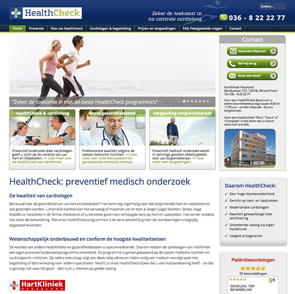 Afbeelding project HealthCheck.nl